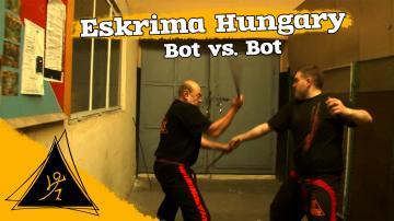 Eskrima - Bot vs Bot (Stick vs Stick) 1/9